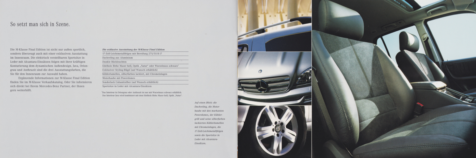 """(W163): Catálogo """"Final Edition"""" 2003 - alemão  005"""