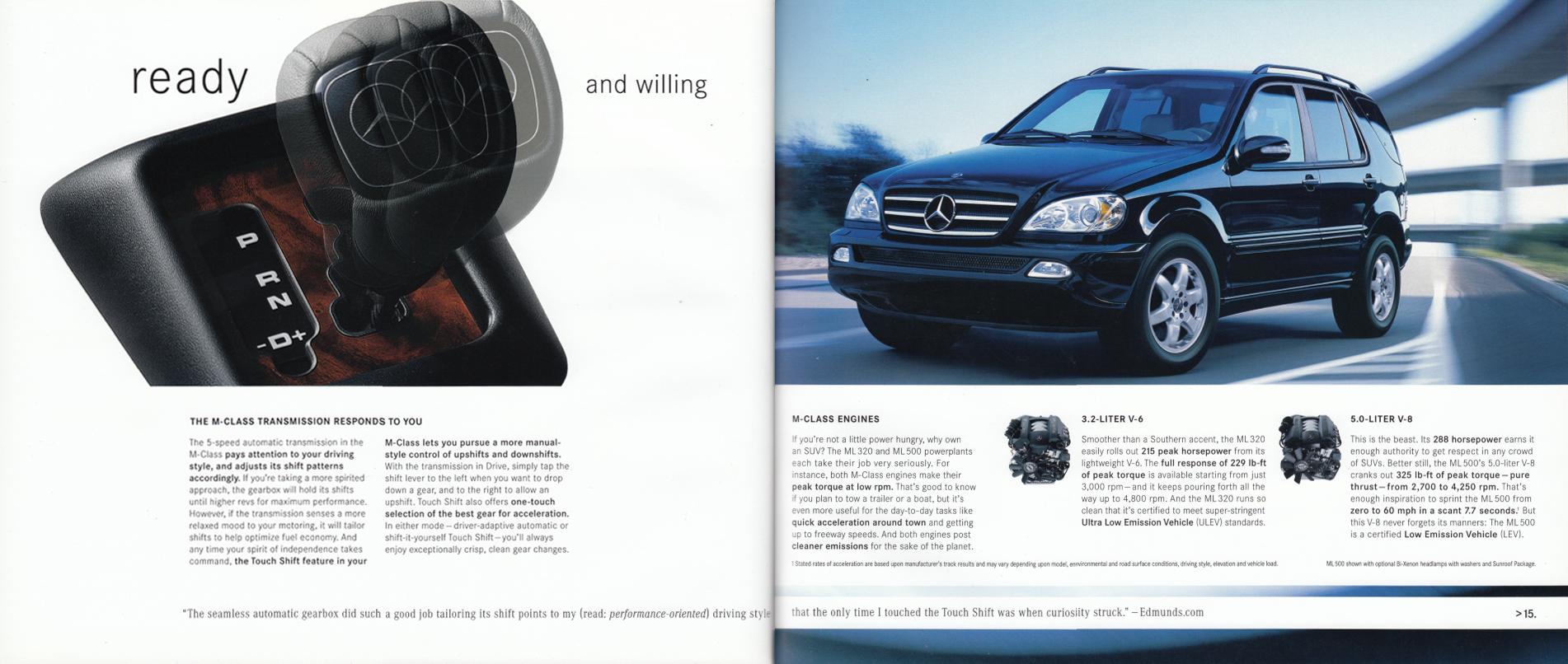 (W163): Catálogo USA 2003 - inglês 009