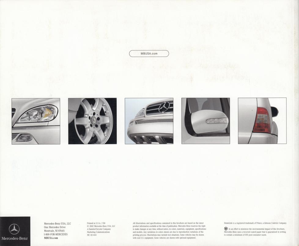 (W163): Catálogo USA 2003 - inglês 022
