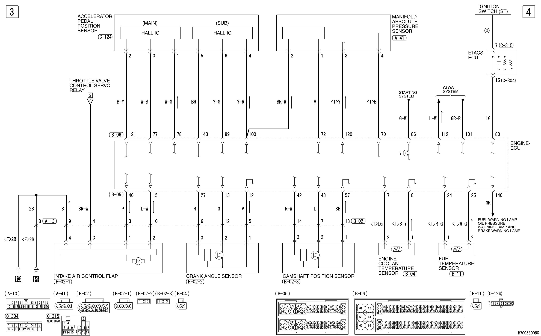 Relè comando corpo farfallato H7G05E00BC00ENG