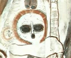 """Ovnis et """"extraterrestres"""" dans l'art antique (peintures, gravures et statuettes) OVNIS_ET_HISTOIRE-15"""