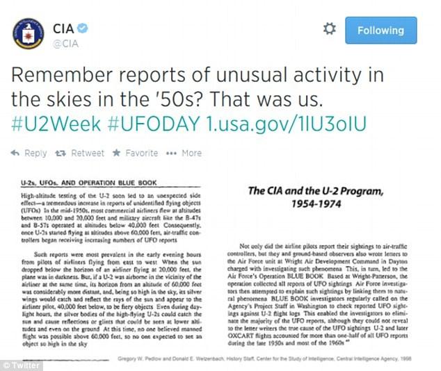 Mystérieux tweet de la CIA sur la vague scandinave des années 50 11-4
