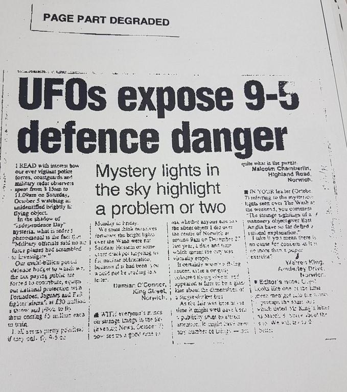 Quand la Royal Air Force détecte un ovni pendant 7h sans intervenir 4-85