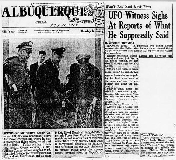 Le cas de Socorro (avril 1964) 6-6