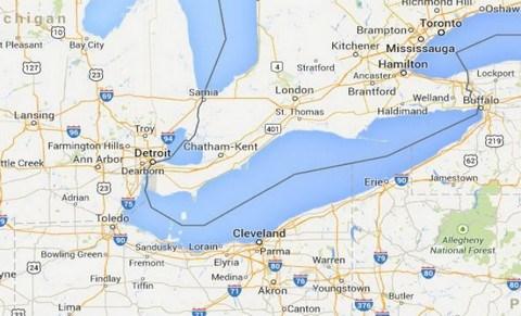 Rapport de garde-côtes américains sur les observations d'ovnis du lac Érié 1-49