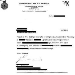 Hausse des observations d'ovnis dans le Queensland 2-85