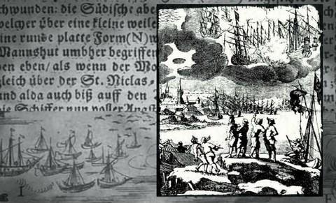 Combats aériens dans le ciel de Barhöfft en 1665 Ufo-1665-2-674x450