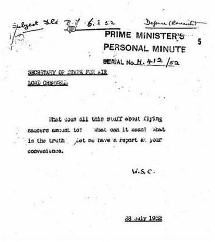 Révélations de propos-chocs de Churchill sur les ovnis Winston-churchill