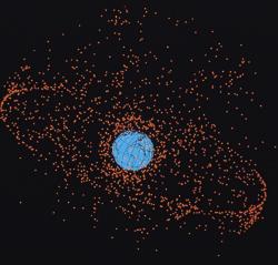 Radars et débris spatiaux. Debris-spatiaux