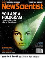 """""""vous etes un holograme""""... NewScientist_hologramme"""