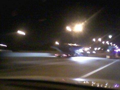 Un transport d'Ovni sur l'autoroute près de Dallas ? Dallashighway1