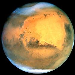 Du méthane dans l'atmosphère martienne. Preuve d'une vie biologique ? Mars