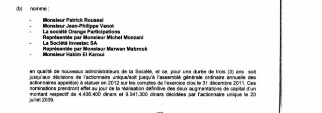 Une nationalisation d'Orange Tunisie? CA-e1299173855318