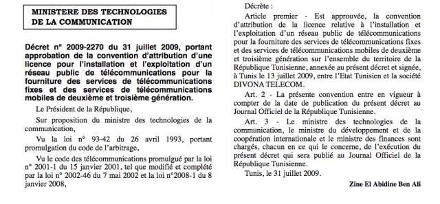 Une nationalisation d'Orange Tunisie? D%C3%A9cret-e1299173391675