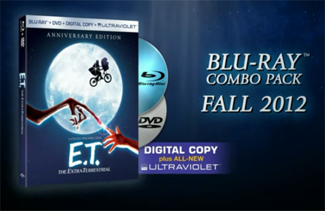 E.T. The Extra-Terrestrial - Blu-ray ET_BD_art