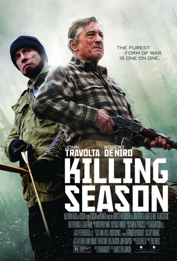 Grandes Fracasos del Cine Killing-Season_OneSheet-IGN-Debut-610x898