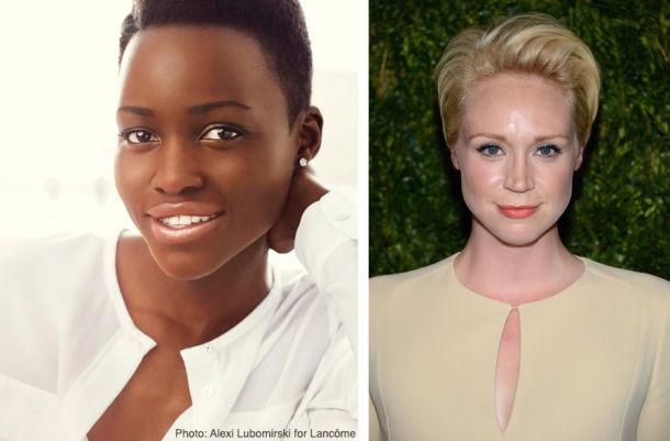 ¡Estos serán los rostros del Episodio VII! - Página 2 Lupita-nyongo-gwendoline-christie-610x401