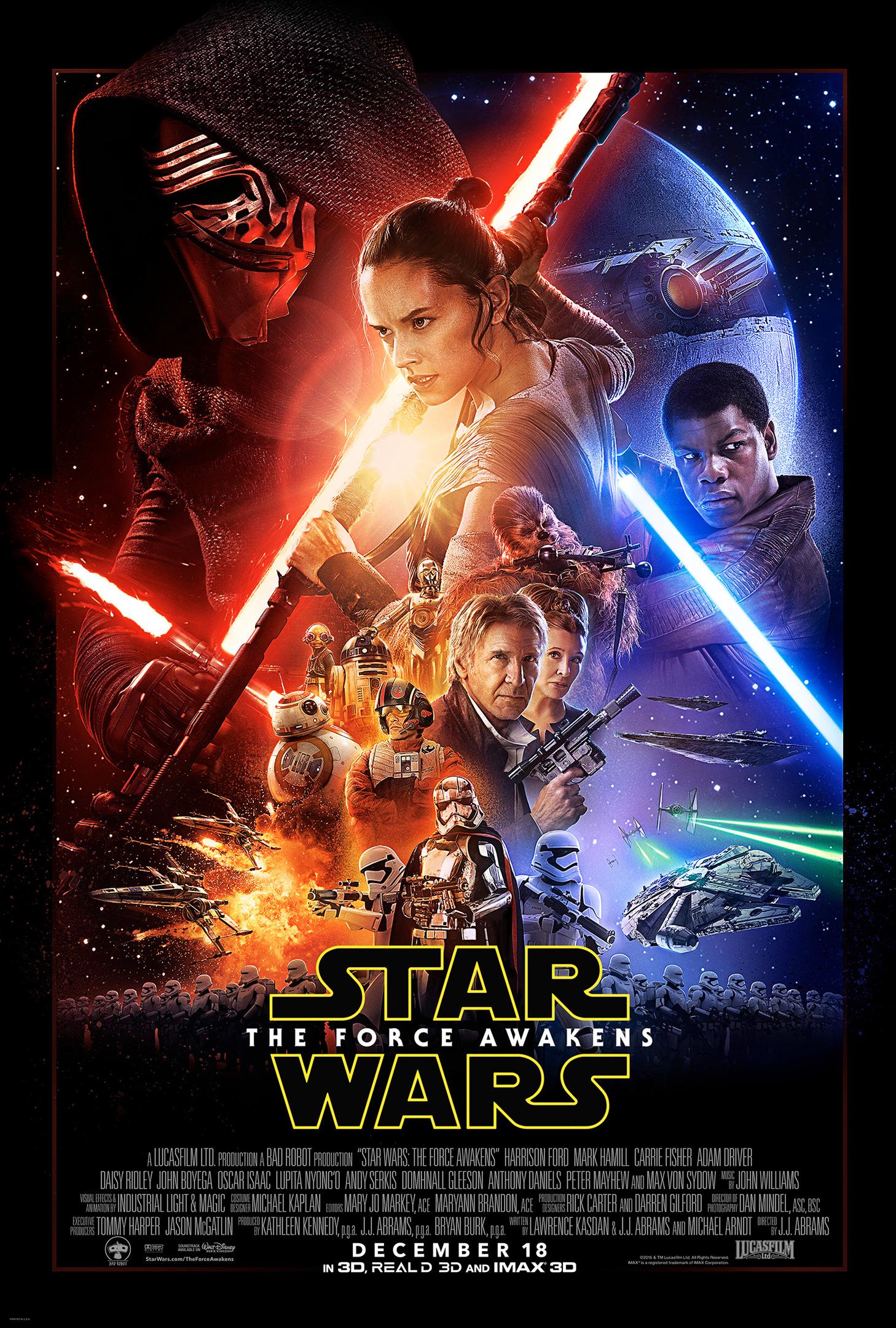 La bande-annonce finale de Star Wars : Le Réveil de la Force enfin disponible ! Par Corentin Vilsalmon                          Star-wars-force-awakens-official-poster