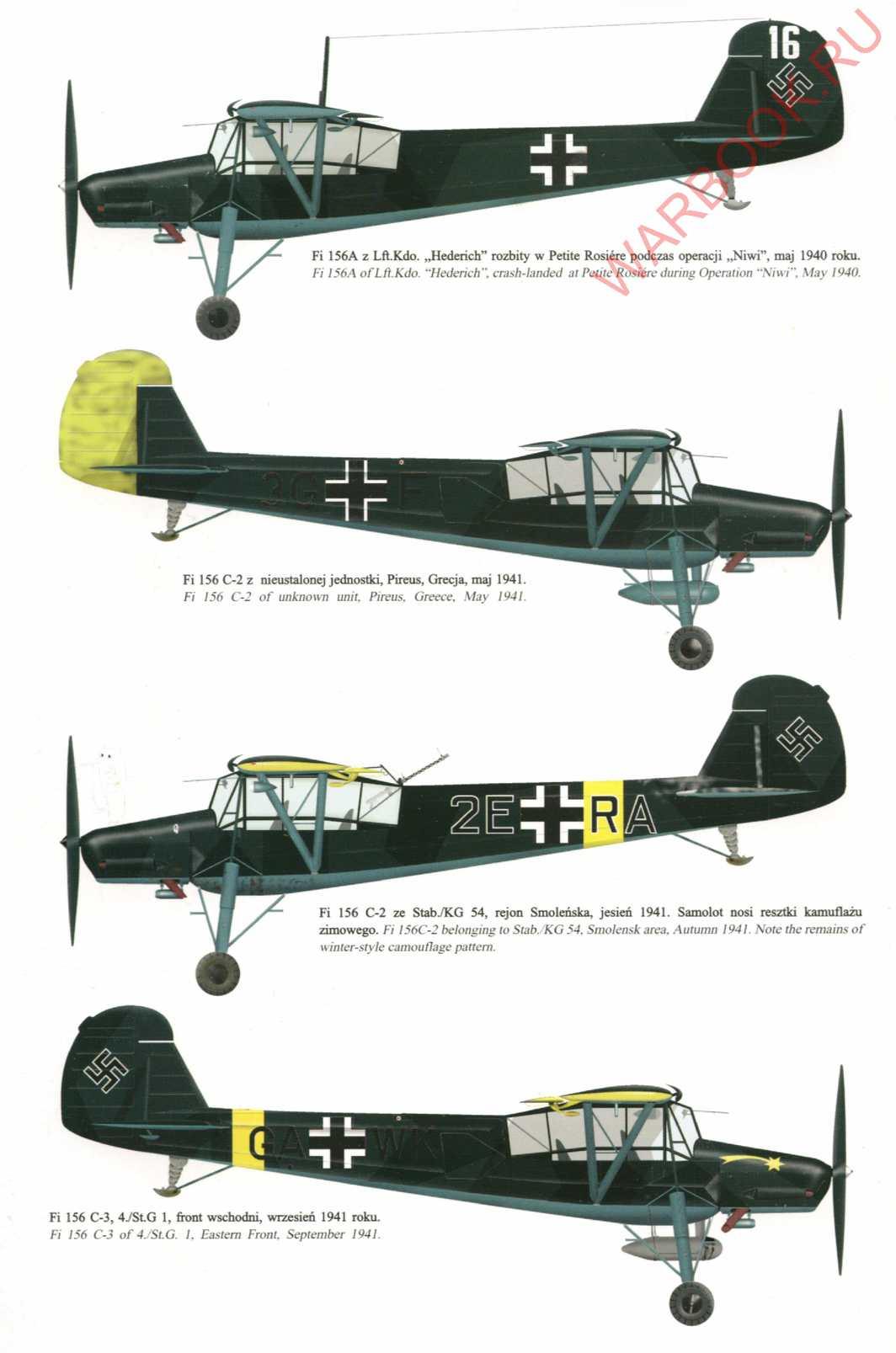 Fieseler Storch Fi 156 P2