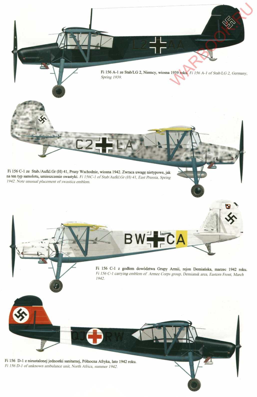 Fieseler Storch Fi 156 P73