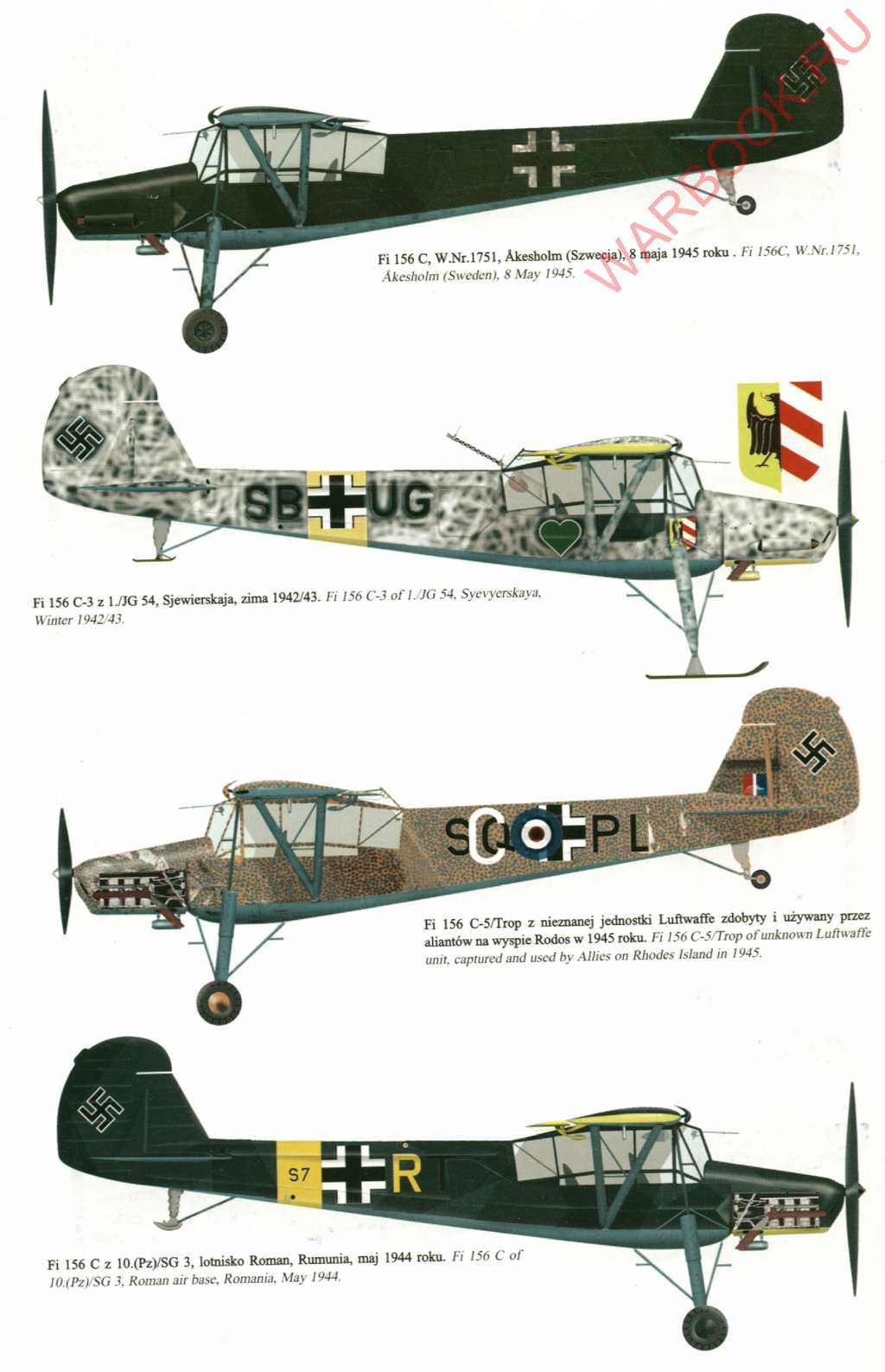 Fieseler Storch Fi 156 P74