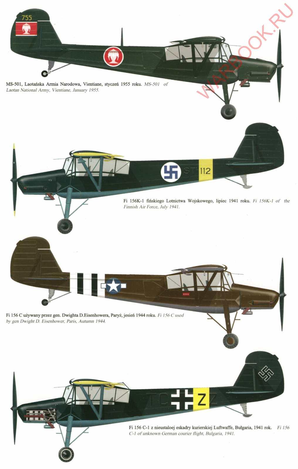 Fieseler Storch Fi 156 P75