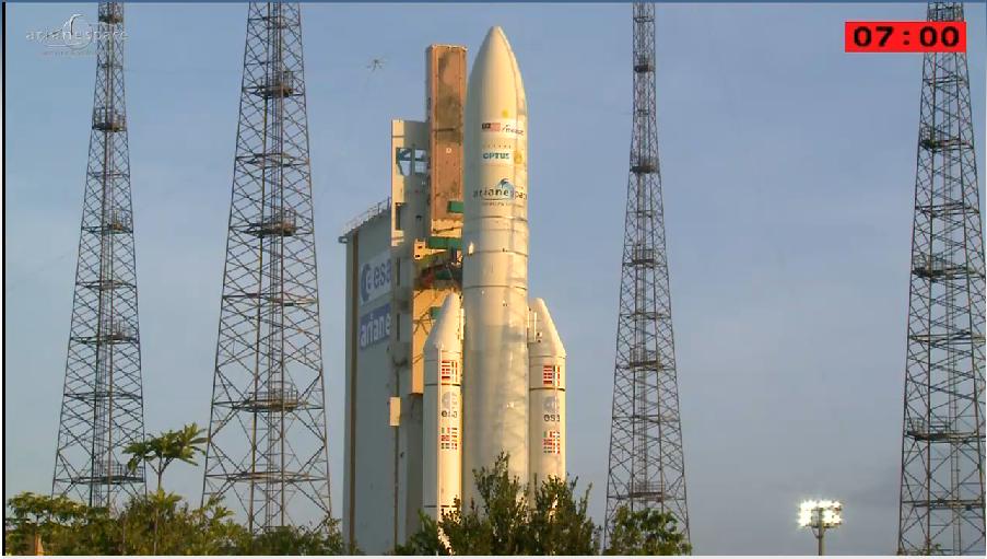 Lancement Ariane 5 ECA VA218 / Measat 3B + Optus 10  - 11 septembre 2014 - Page 5 2014-09-11_23-14-27