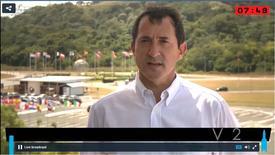Lancement Ariane 5 VA220 / ISDLA-1 & ARSAT-1 / 16 octobre 2014 - Page 2 2014-10-16_22-52-27