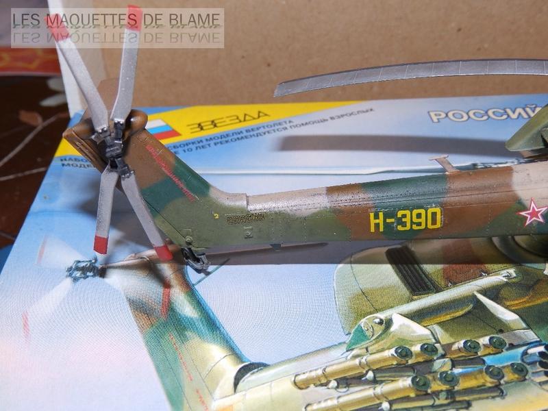MIL MI-28A HAVOC PROTOTYPE NO32 (ZVEZDA) 1/72 111744131