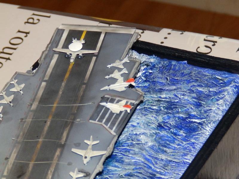 Porte avion USS ENTREPRISE-revell-[Mise en scène marine] 1/720. 105901407