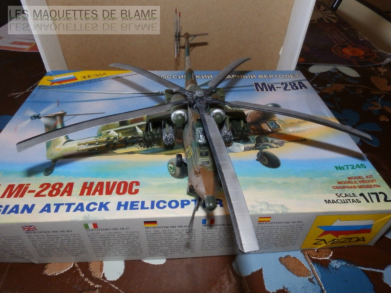 MIL MI-28A HAVOC PROTOTYPE NO32 (ZVEZDA) 1/72 111744077