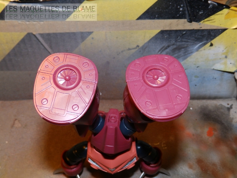 """MSM-07S Z'GOK CAMMANDER TYPE  """"ABANDONED AND RUST CUSTOM"""" - BANDAI - 1/144 - MONTAGE RAPIDE 116943942"""