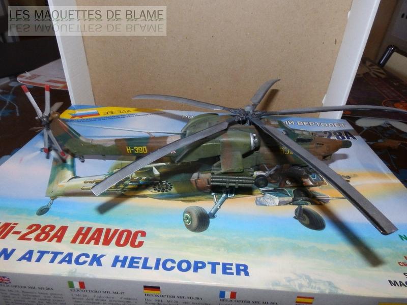 MIL MI-28A HAVOC PROTOTYPE NO32 (ZVEZDA) 1/72 111744081