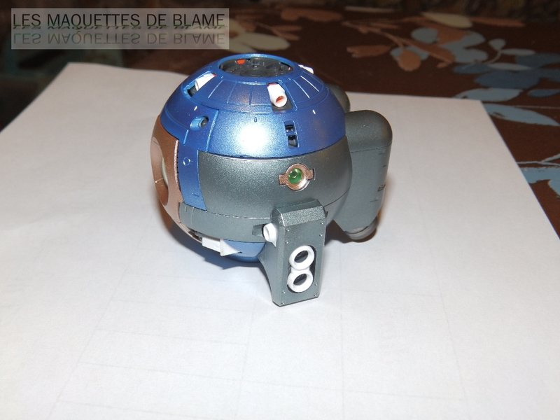 RB-79 MOBILE POD BALL VER.KA (BANDAI) [peinture externe bleu métal] RG 1/100 113628552
