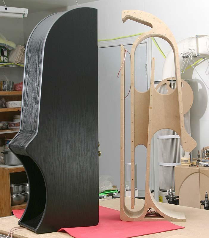 Fostex FE206En in Double Bass-Reflex Speaker Enclosure LayertoneA166