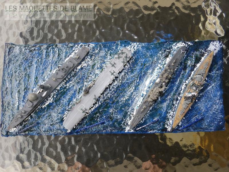 BATEAUX HELLER CADET: LE SUFFREN; LE DEGRASSE; LE COLOSSUS; LE BISMARK PLANCHE DE PRÉSENTATION. 112084267