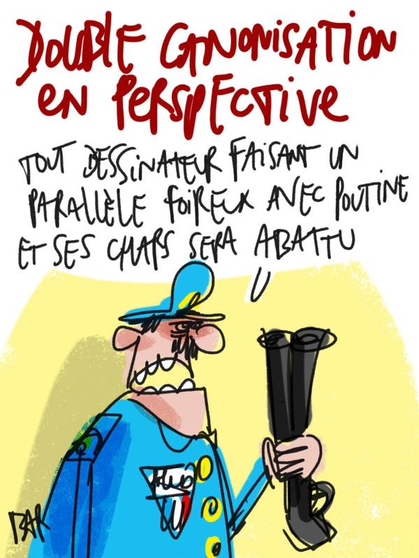 A RIRE OU EN PLEURER OU REVUE DE PRESSE SATIRIQUE - Page 5 95654784