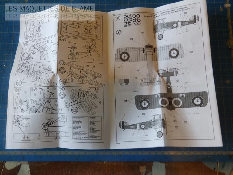 SOPWITH CAMEL F-1 [1/72] (N°3 NAVAL SQN, ROYAL NAVAL AIR SERVICE WALMER, DECEMBRE 1917) 116377560