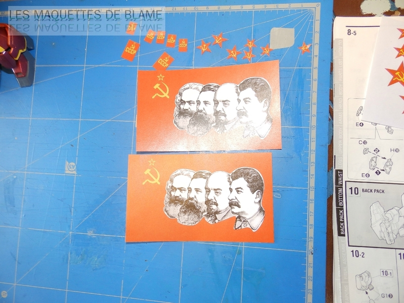 BANDAI GUNDAM SANDROCK XXXG-01SR (MASTER GRADE 1/100) [CUSTOM URSS] 116023343