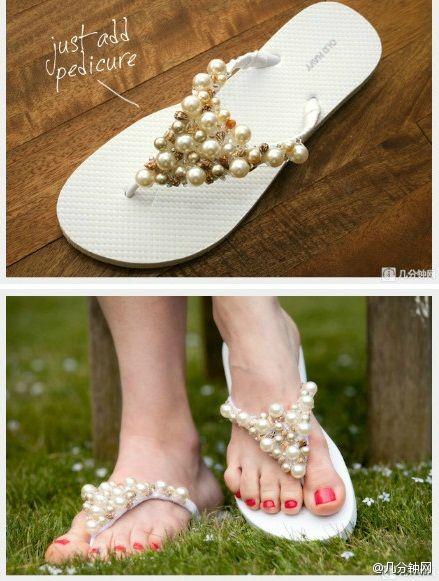 إجعلي حذائك المنزلي البسيط جذابا و أنيقا... 87927553_p