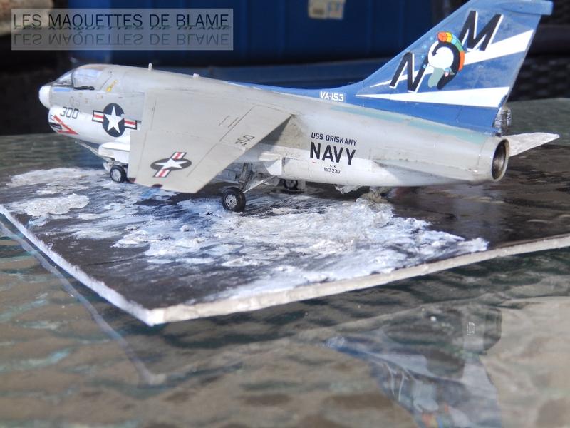 DIORAMA ATTENTION À LA FUITE (A7-A CORSAIR 2 VA-153 BLUE TAIL FLIES)!!!! 115181987
