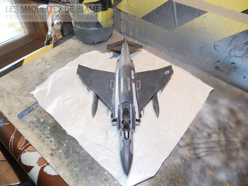 MCDONNELL DOUGLAS F-4S PHANTOM II, WFMA-232 US MARINE CORPS 1987 [italeri 1/72] - Page 2 110059407