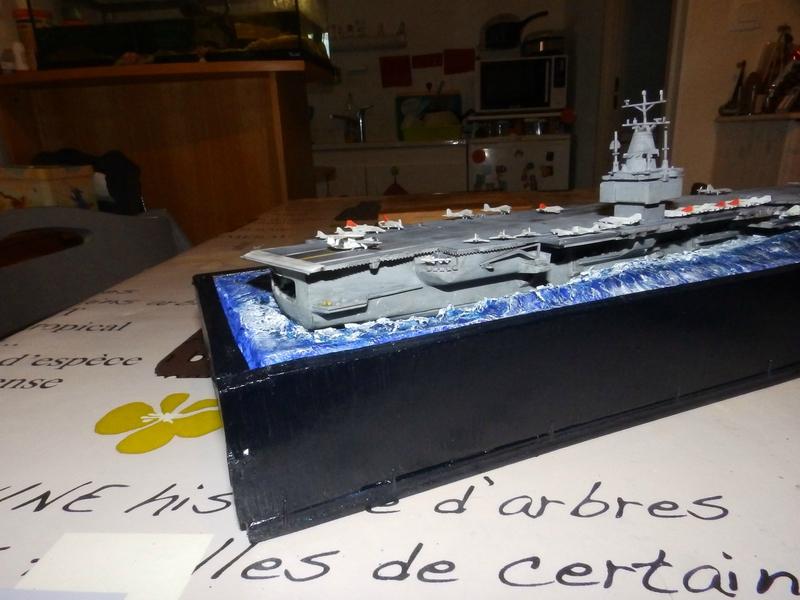Porte avion USS ENTREPRISE-revell-[Mise en scène marine] 1/720. 105901552