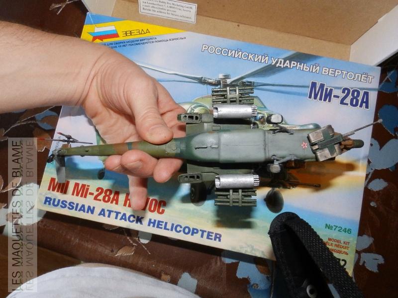 MIL MI-28A HAVOC PROTOTYPE NO32 (ZVEZDA) 1/72 111744134