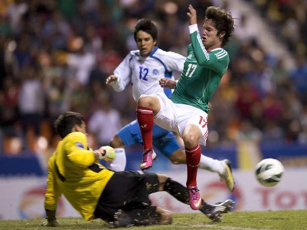 Premundial de CONCACAF: Eliminatorias Copa Mundo Turquia 2013: El Salvador 0 Mexico 3. Mexico3-0elsalvador23-10