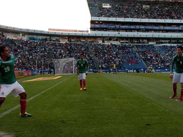Premundial de CONCACAF: Eliminatorias Copa Mundo Turquia 2013: El Salvador 0 Mexico 3. Mexico3-0elsalvador23-4