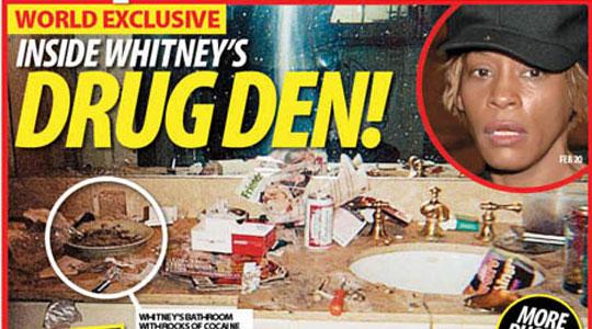 tu te drogas tus hijos tambien Whitney-houston-hooked