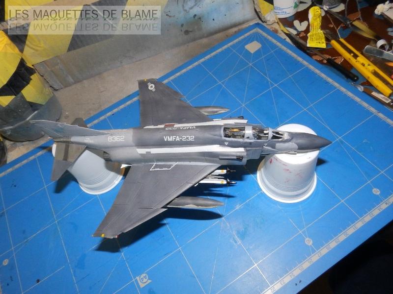 MCDONNELL DOUGLAS F-4S PHANTOM II, WFMA-232 US MARINE CORPS 1987 [italeri 1/72] - Page 2 110060148