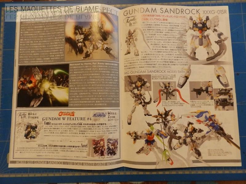 BANDAI GUNDAM SANDROCK XXXG-01SR (MASTER GRADE 1/100) [CUSTOM URSS] 115686852
