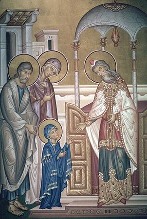 21 novembre Présentation de la Sainte Vierge Marie  30473370_p